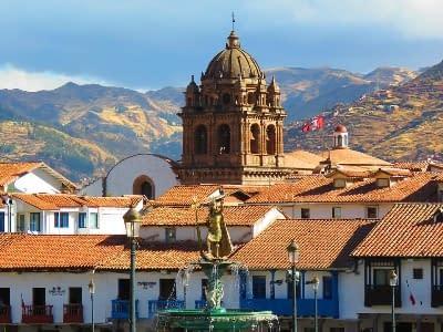 Stadtzentrum von Cusco in Peru