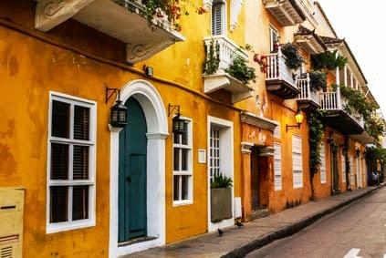 Kolonialarchitektur Kolumbien Cartagena