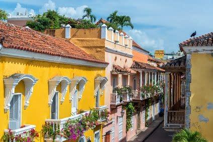 Cartagena Kolumbien Karibik