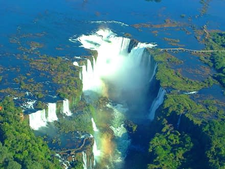 Naturwunder Iguazu Wasserfälle 5