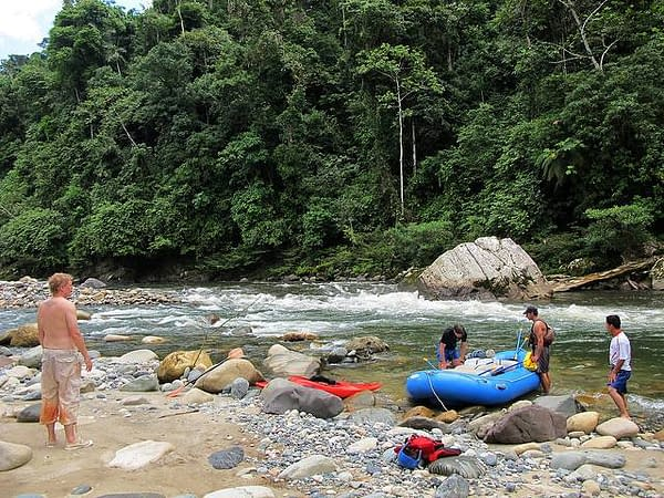 Canyoning und Rafting 1